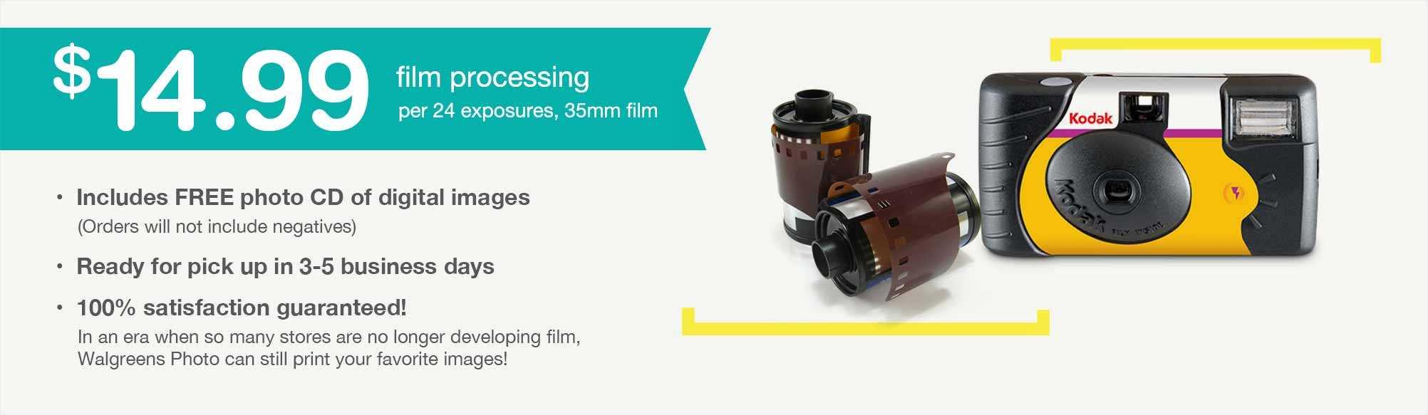Film Processing | Walgreens PhotoFilm Processing | Walgreens